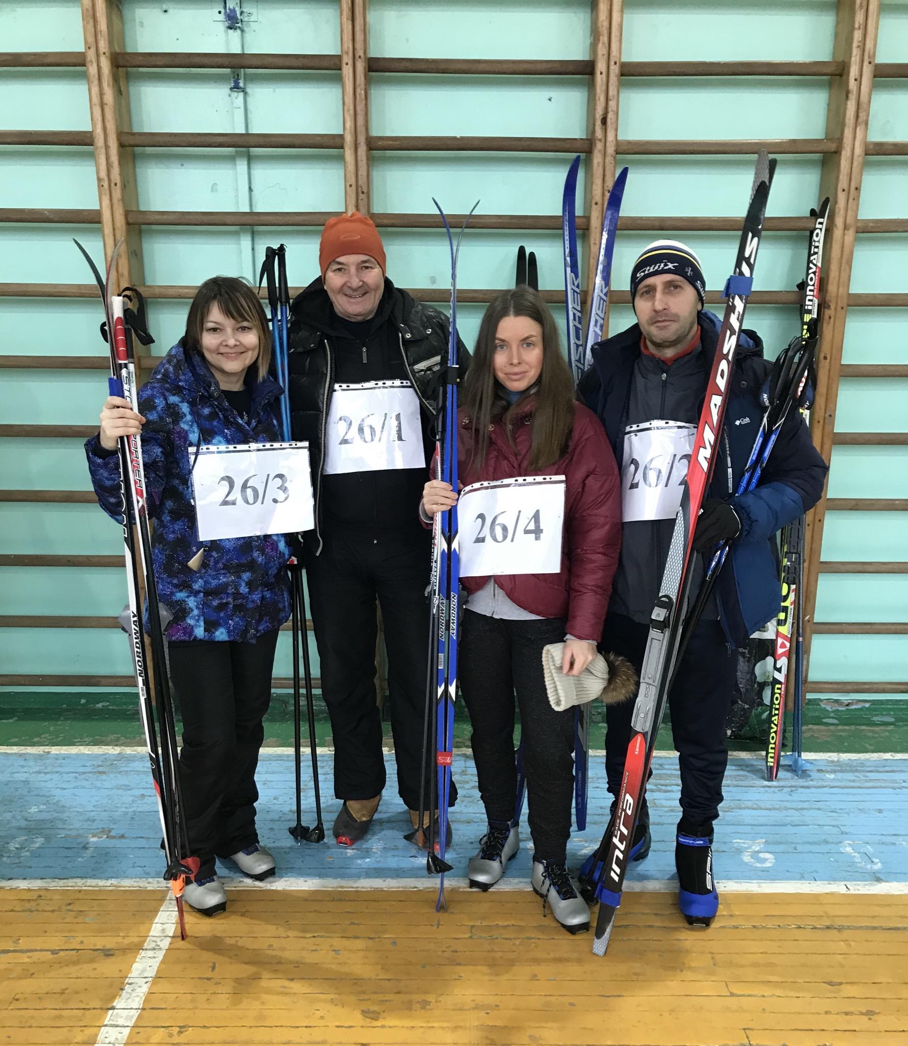 Окружные соревнования по лыжным гонкам