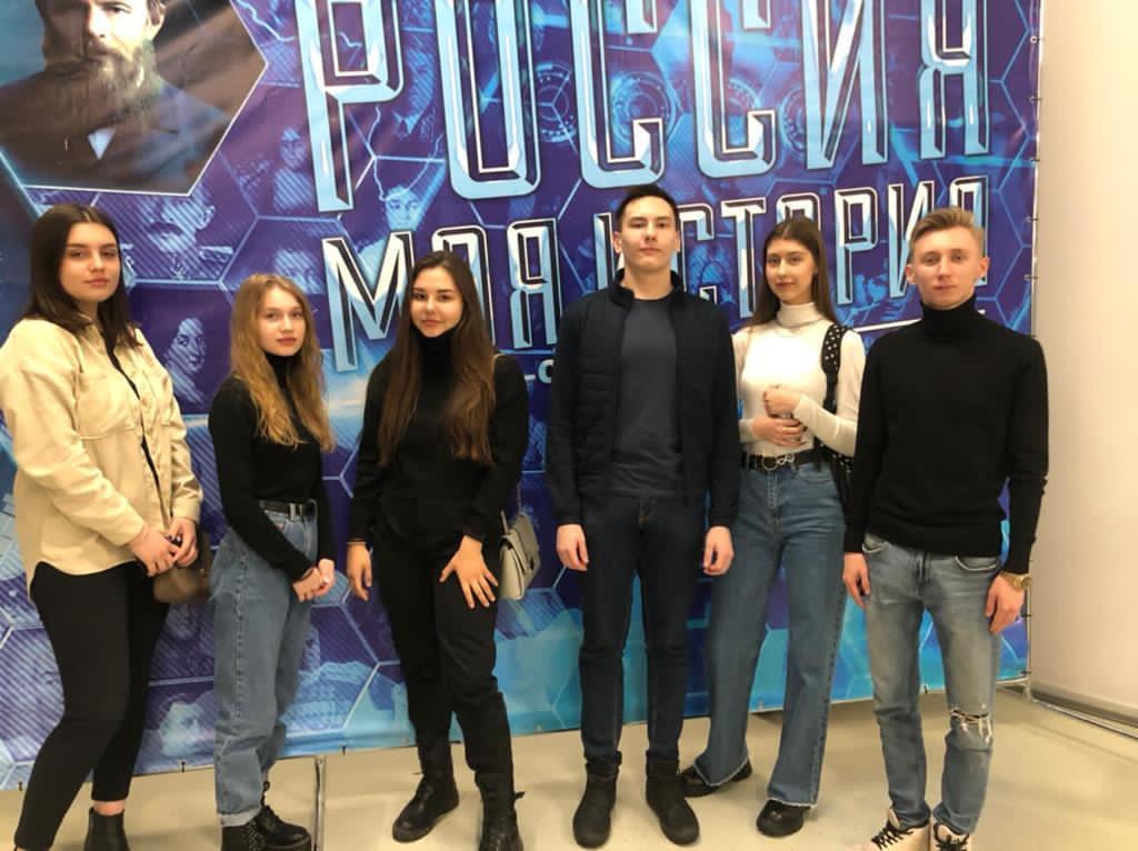 Всреча старшеклассников с Иваном Рюмшиным